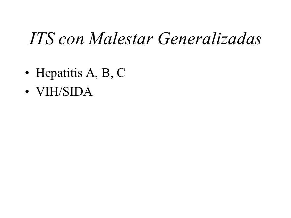 ITS con Malestar Generalizadas
