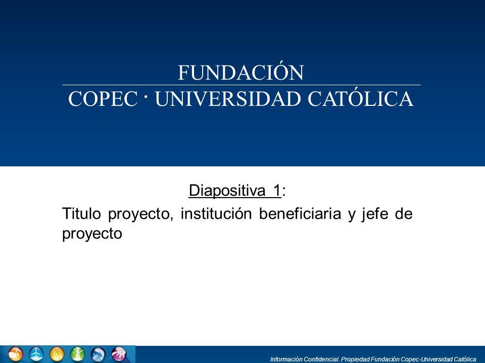 COPEC . UNIVERSIDAD CATÓLICA
