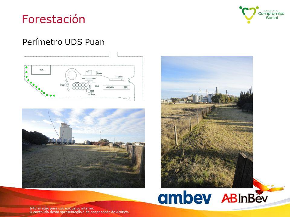 Forestación Perímetro UDS Puan
