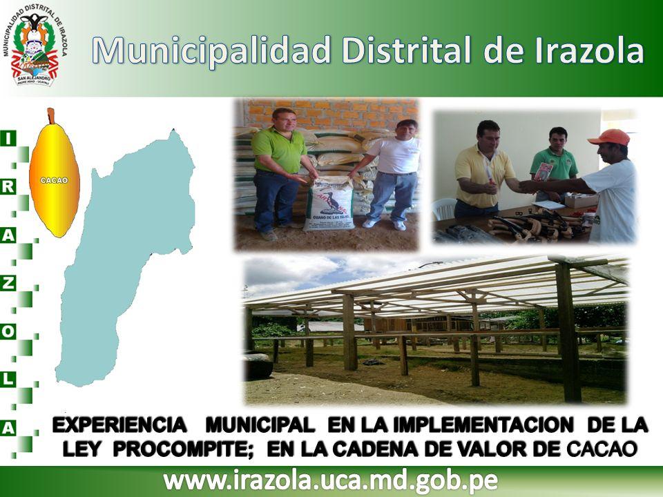 Municipalidad Distrital de Irazola
