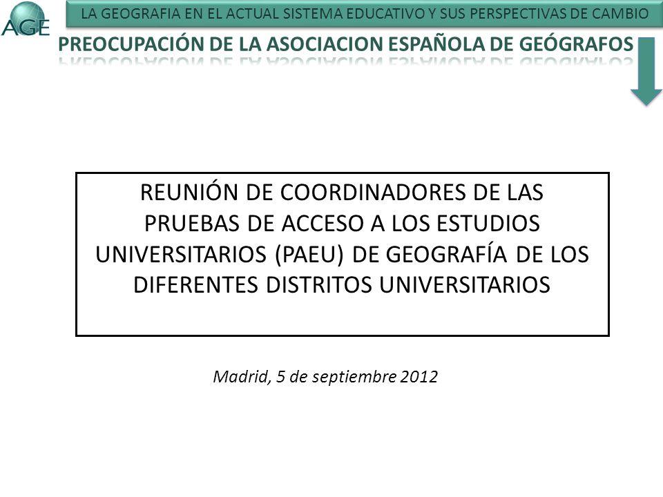 REUNIÓN DE COORDINADORES DE LAS