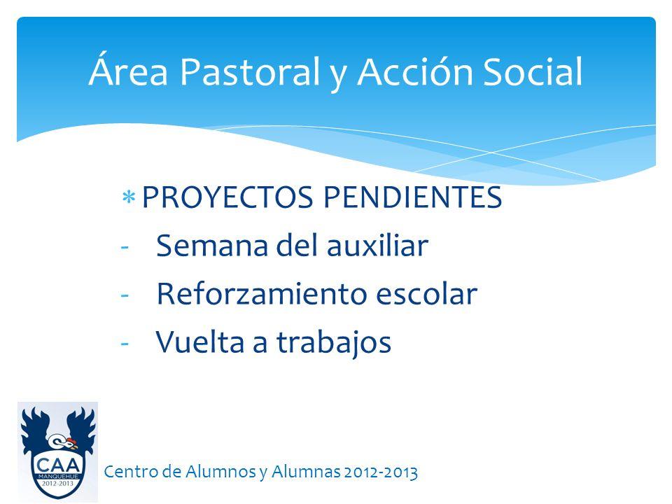Área Pastoral y Acción Social