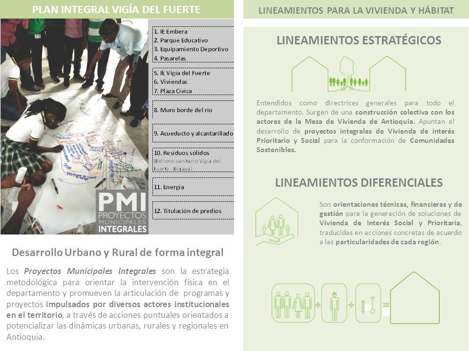 LINEAMIENTOS ESTRATÉGICOS LINEAMIENTOS DIFERENCIALES