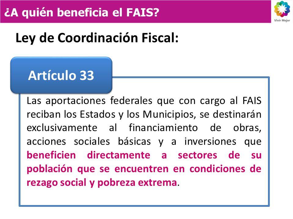 Ley de Coordinación Fiscal: