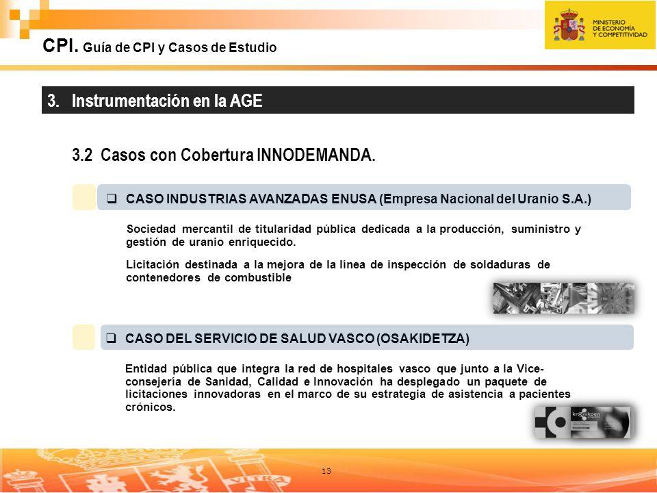 CPI. Guía de CPI y Casos de Estudio