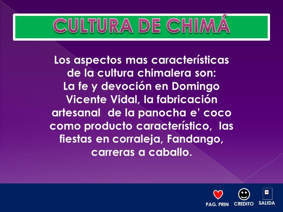 Los aspectos mas características de la cultura chimalera son: