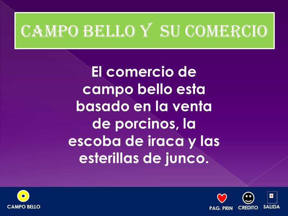 CAMPO BELLO Y SU COMERCIO