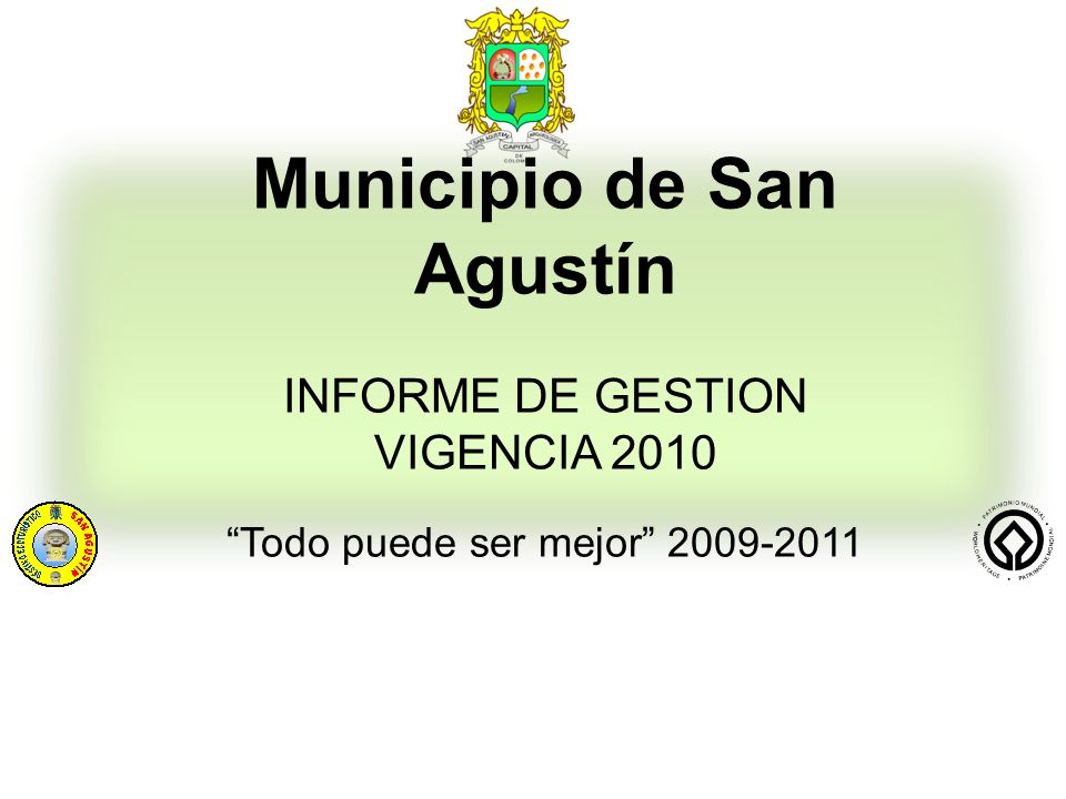 Municipio de San Agustín