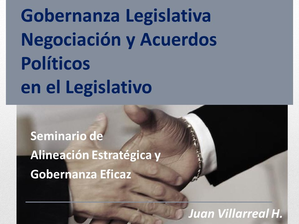 Seminario de Alineación Estratégica y Gobernanza Eficaz