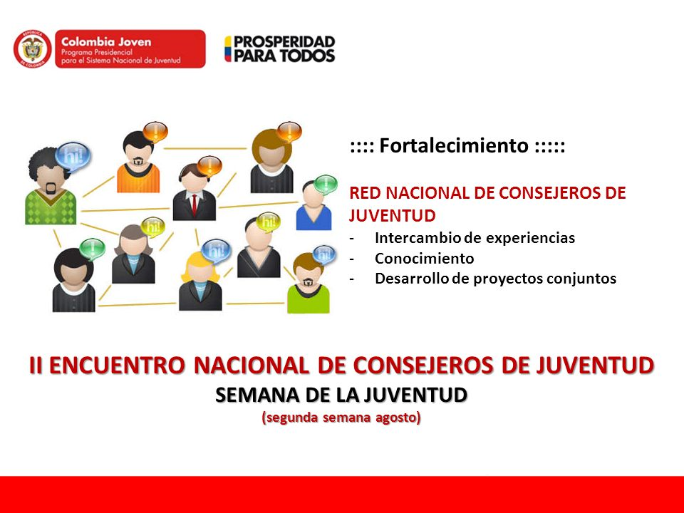 II ENCUENTRO NACIONAL DE CONSEJEROS DE JUVENTUD