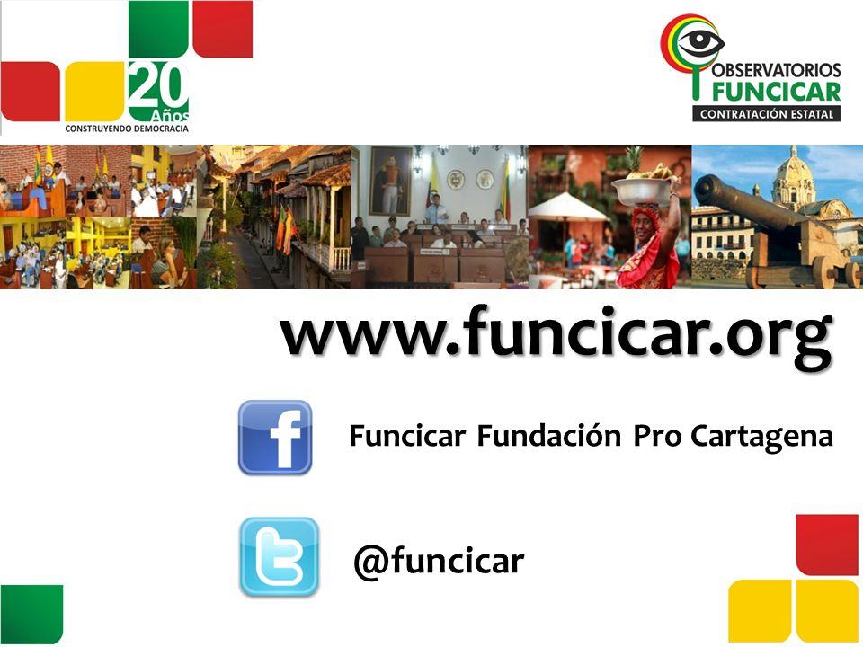 www.funcicar.org Funcicar Fundación Pro Cartagena @funcicar