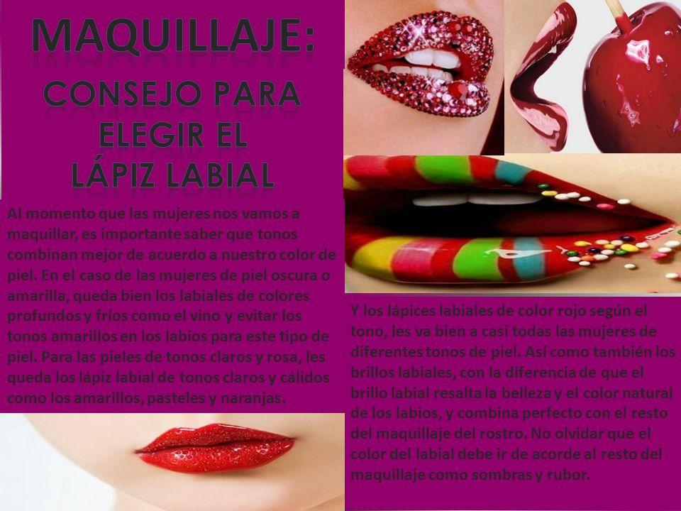 Maquillaje: consejo para elegir el Lápiz Labial