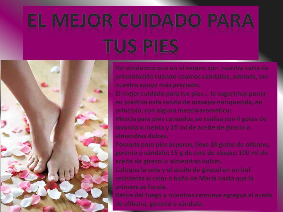 El mejor cuidado para Tus pies