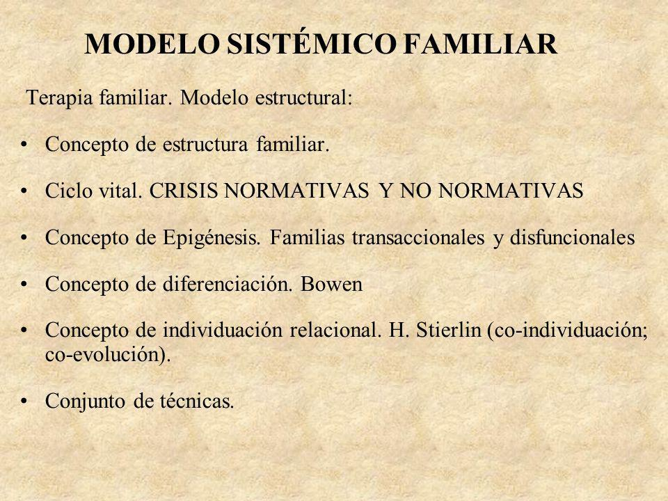 MODELO SISTÉMICO FAMILIAR