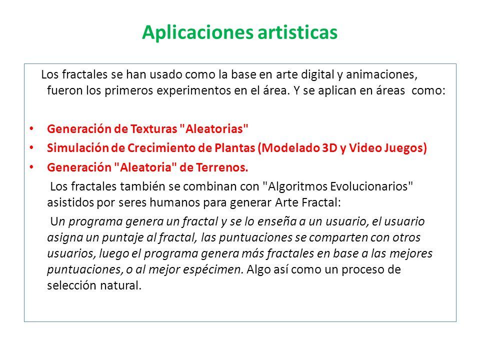 Aplicaciones artisticas