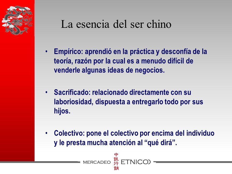 La esencia del ser chino