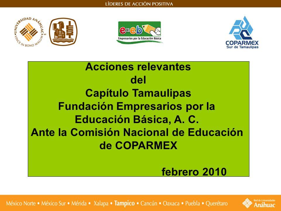 Fundación Empresarios por la Ante la Comisión Nacional de Educación