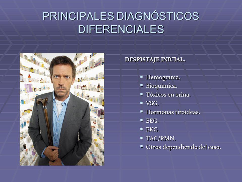PRINCIPALES DIAGNÓSTICOS DIFERENCIALES