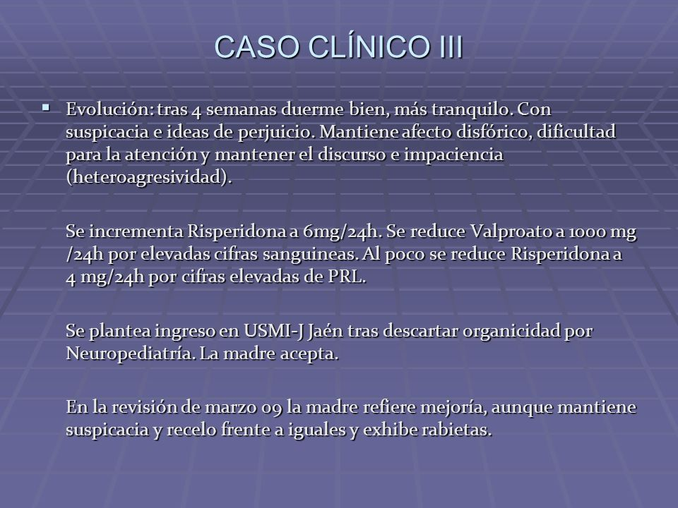 CASO CLÍNICO III
