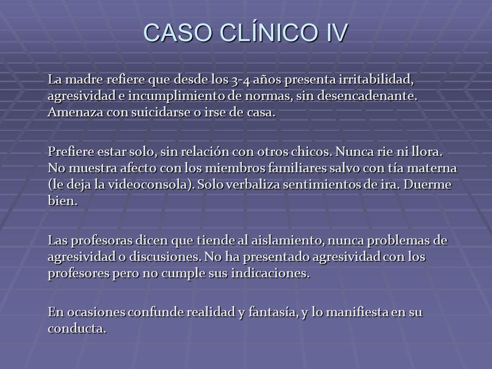 CASO CLÍNICO IV