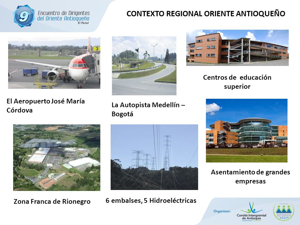 CONTEXTO REGIONAL ORIENTE ANTIOQUEÑO