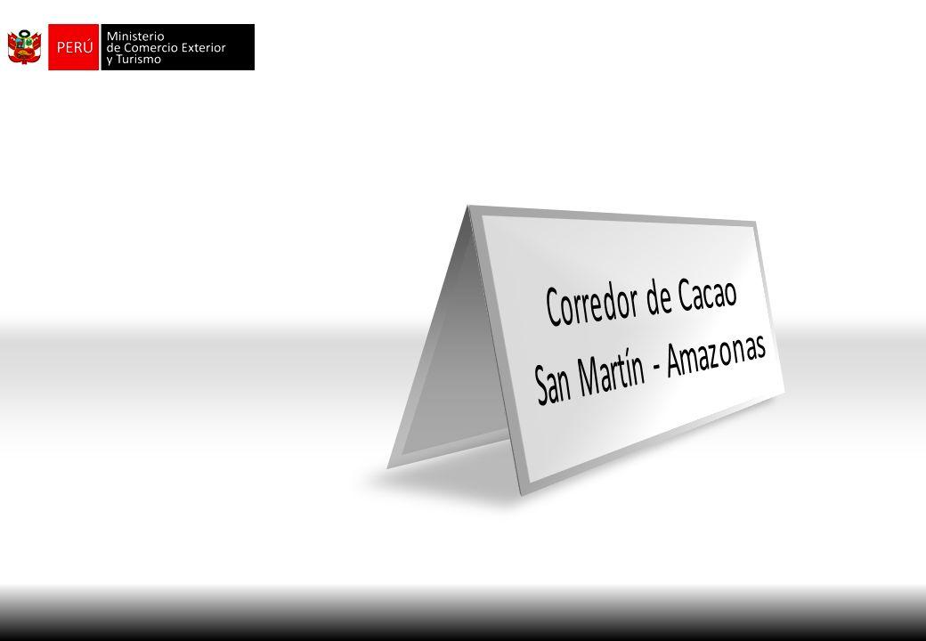 Corredor de Cacao San Martín - Amazonas
