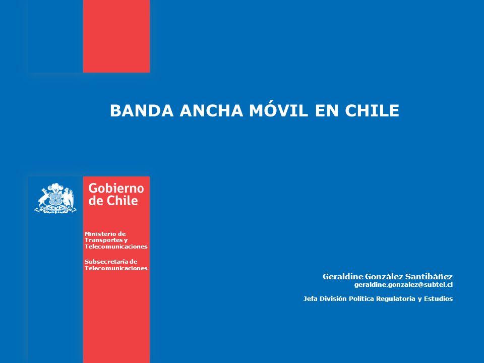BANDA ANCHA MÓVIL EN CHILE