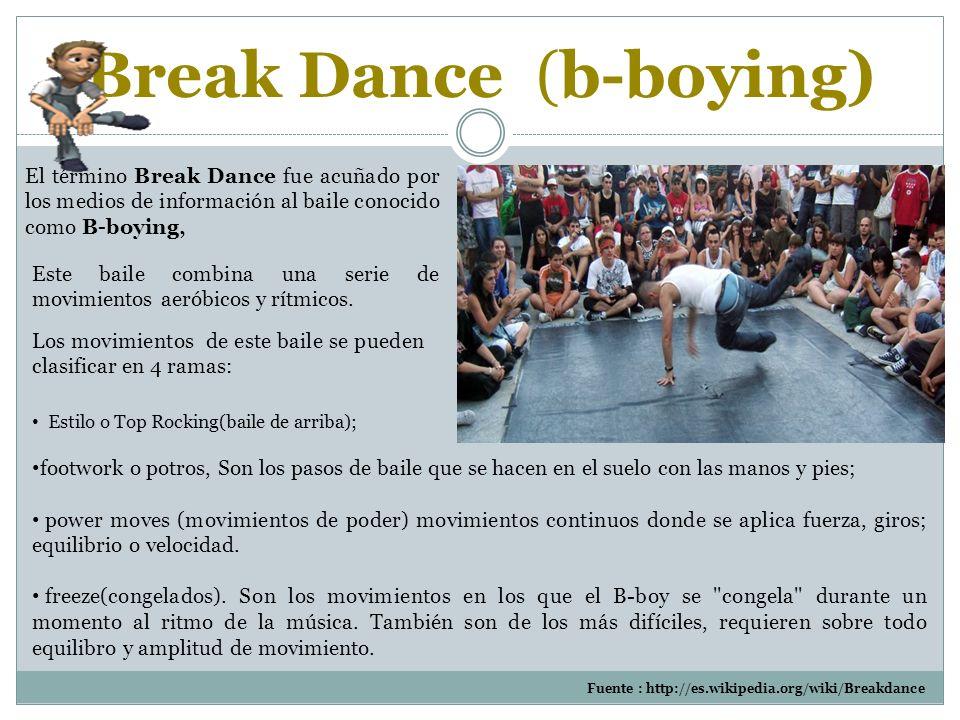 Break Dance (b-boying)