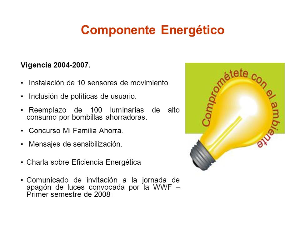 Componente Energético