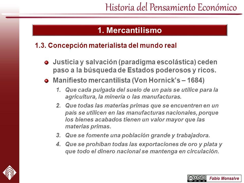 1.3. Concepción materialista del mundo real