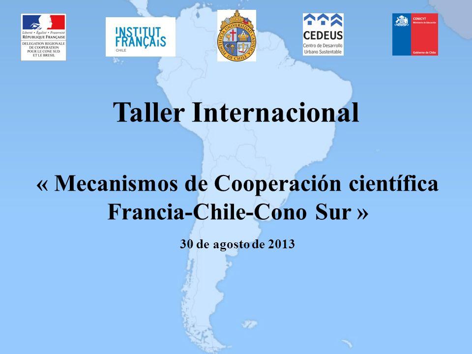 « Mecanismos de Cooperación científica Francia-Chile-Cono Sur »