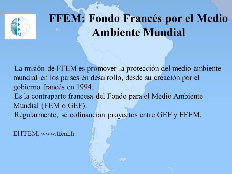 FFEM: Fondo Francés por el Medio Ambiente Mundial