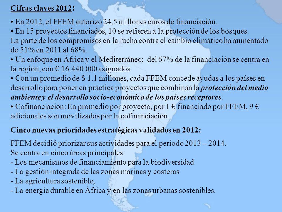 FFEM decidió priorizar sus actividades para el período 2013 – 2014.