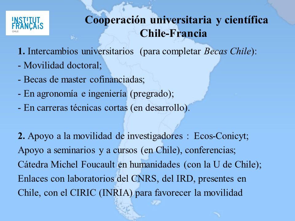 Cooperación universitaria y científica Chile-Francia