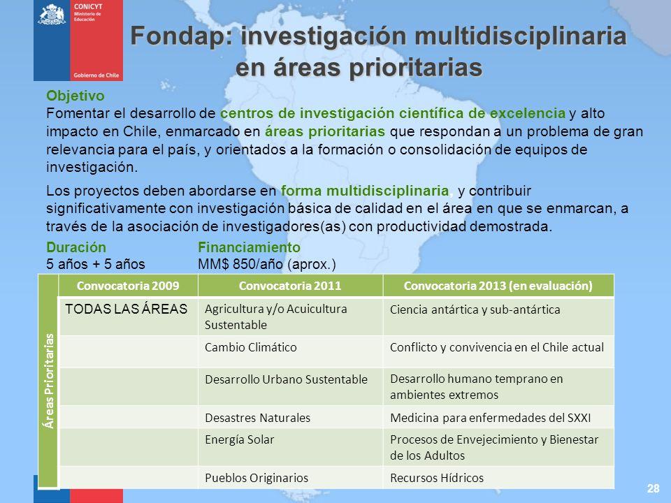 Convocatoria 2013 (en evaluación)