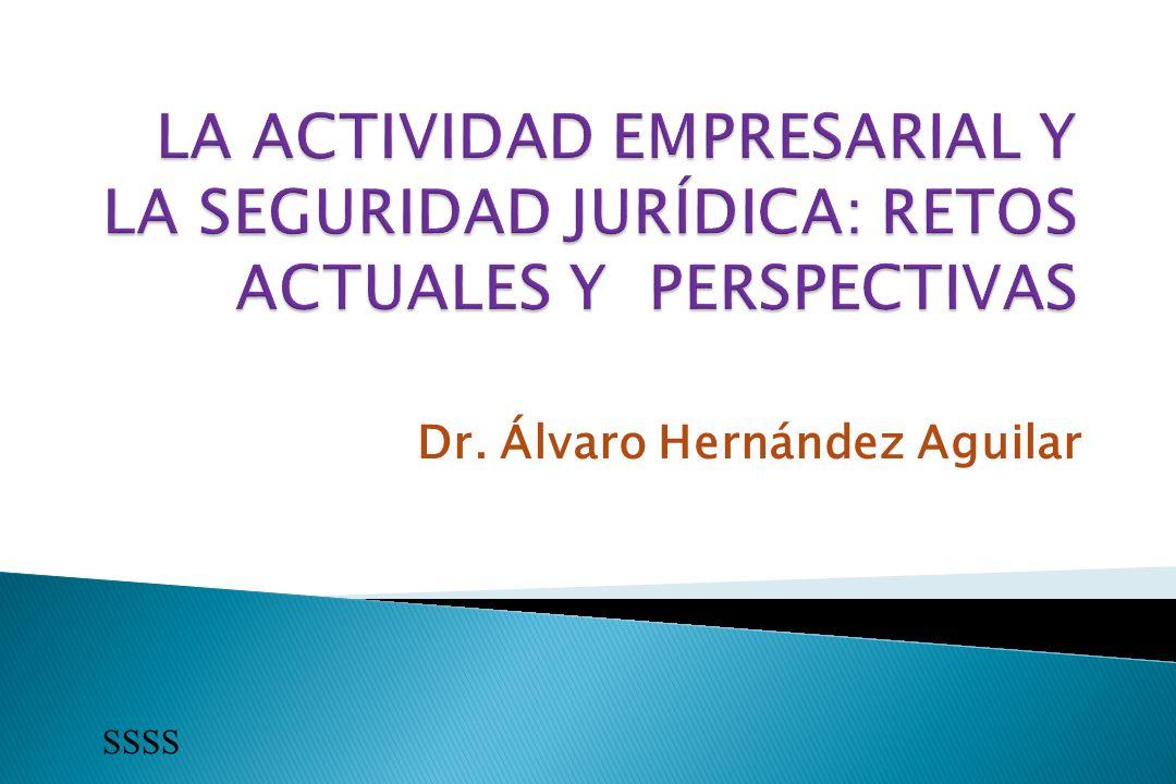 Dr. Álvaro Hernández Aguilar