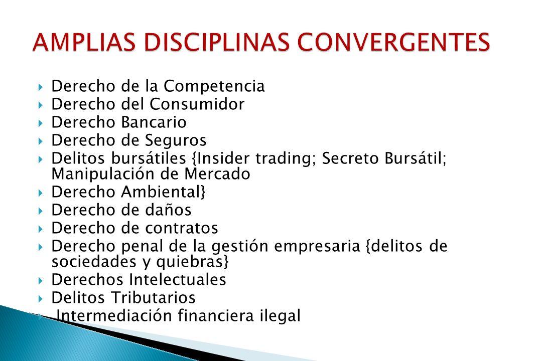 AMPLIAS DISCIPLINAS CONVERGENTES