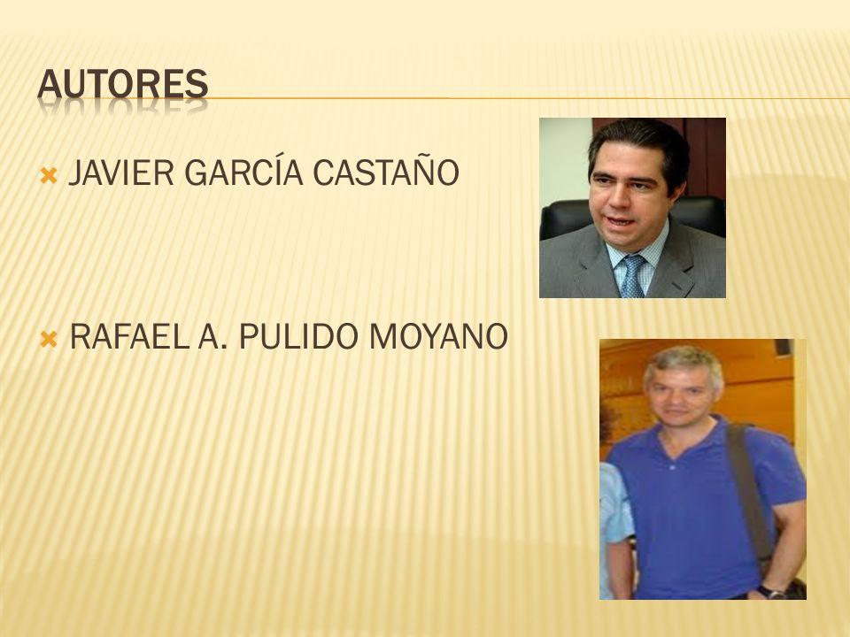 AUTORES JAVIER GARCÍA CASTAÑO RAFAEL A. PULIDO MOYANO