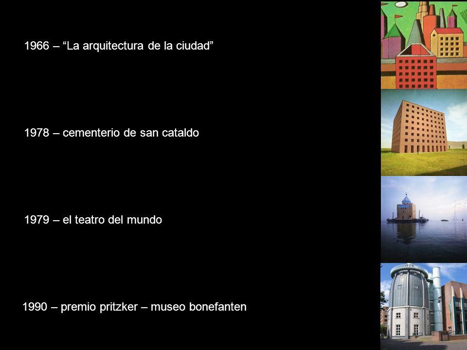 1966 – La arquitectura de la ciudad