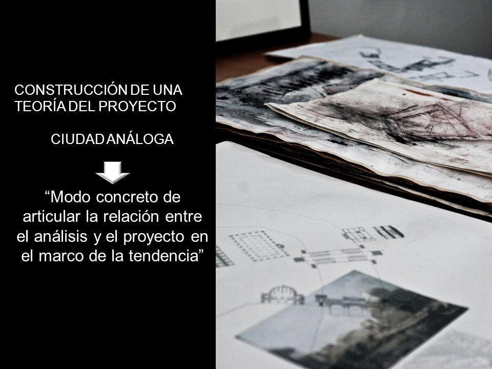 CONSTRUCCIÓN DE UNA TEORÍA DEL PROYECTO