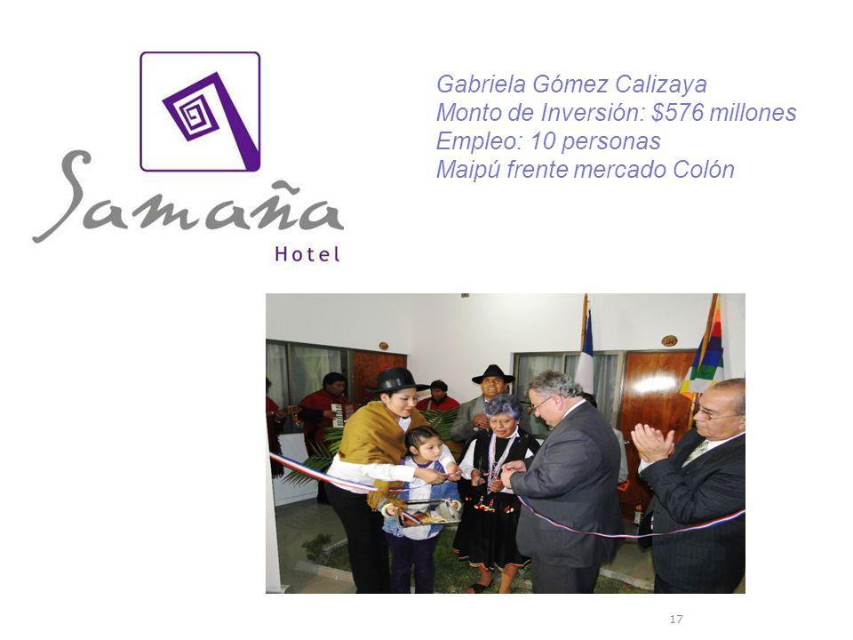 Gabriela Gómez Calizaya
