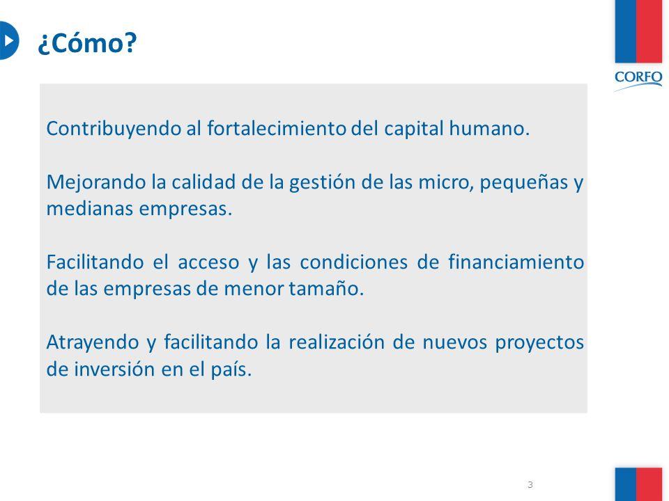 ¿Cómo Contribuyendo al fortalecimiento del capital humano.
