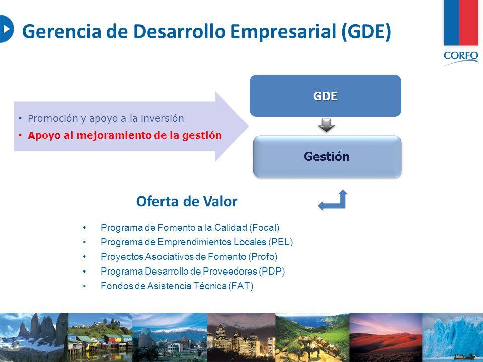 Gerencia de Desarrollo Empresarial (GDE)