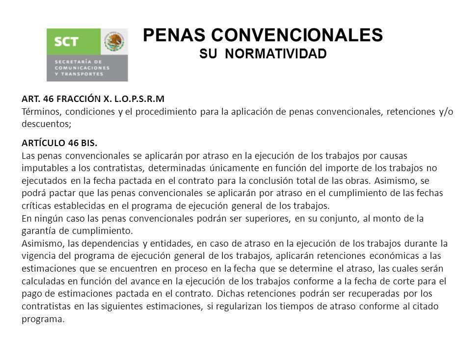 PENAS CONVENCIONALES SU NORMATIVIDAD