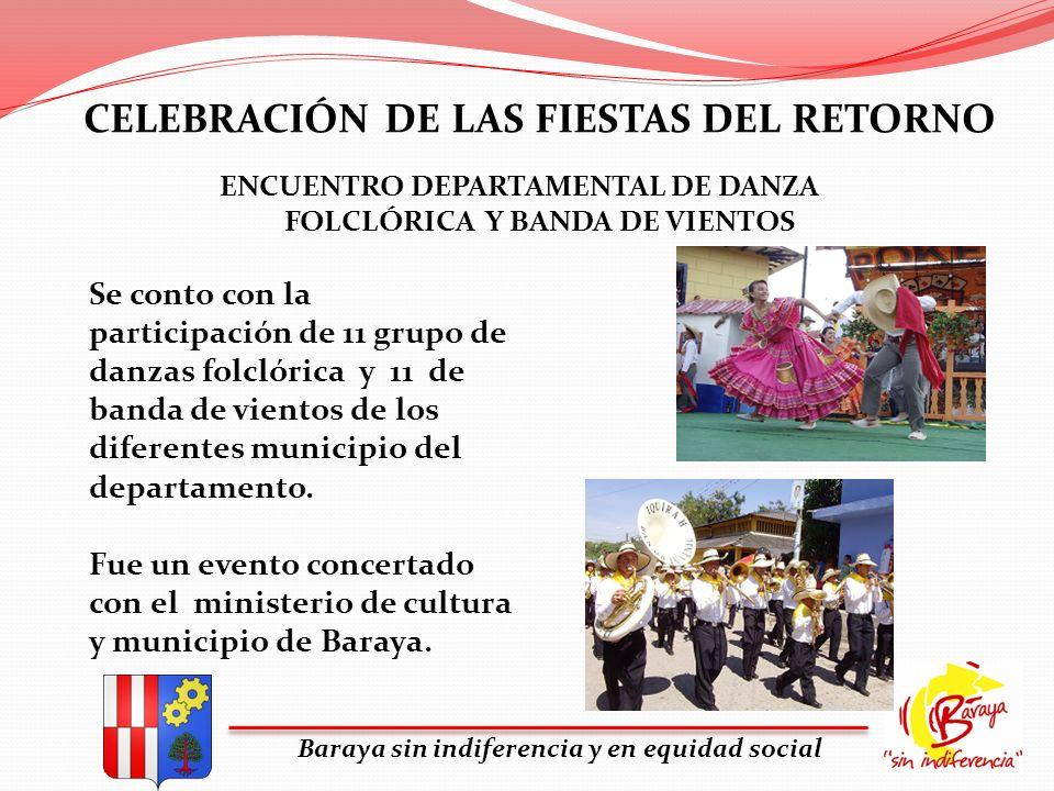 CELEBRACIÓN DE LAS FIESTAS DEL RETORNO