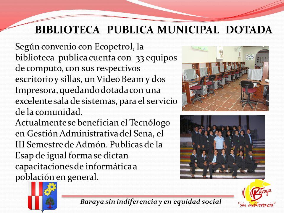 BIBLIOTECA PUBLICA MUNICIPAL DOTADA
