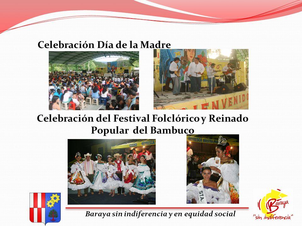 Celebración del Festival Folclórico y Reinado Popular del Bambuco