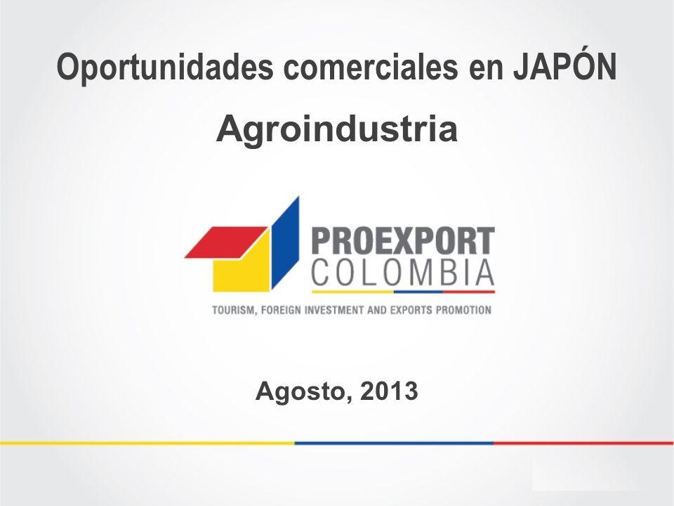 Oportunidades comerciales en JAPÓN