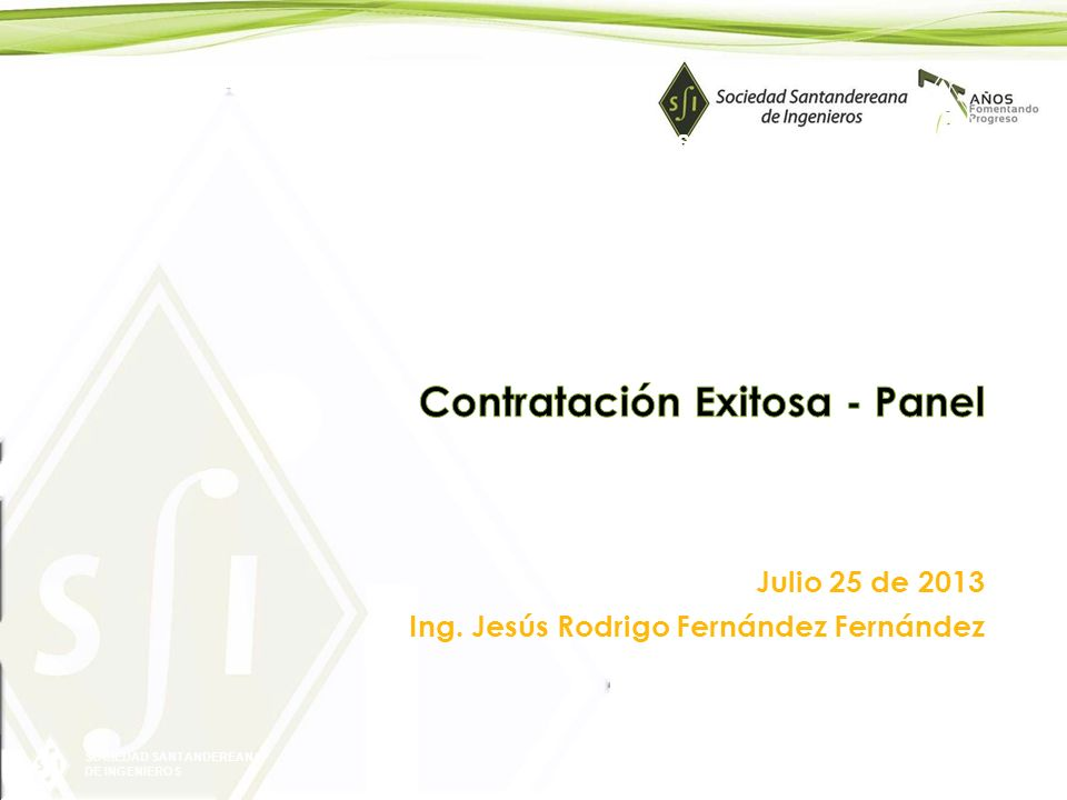 Contratación Exitosa - Panel