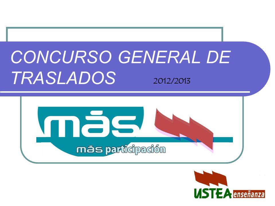 CONCURSO GENERAL DE TRASLADOS